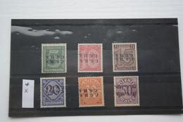 Oberschlesien/Upper Silesia Type X  6  Mint Stamps, - Abstimmungsgebiete