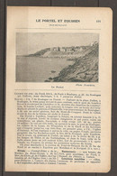 1923 LE PORTEL ET EQUIHEN CHEMIN DE FER DU NORD 254 KM DE PARIS A BOULOGNE - DE BOULOGNE TRAM ELECTRIQUE - Railway