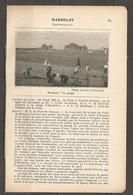 1923 HARDELOT CHEMIN DE FER DU NORD A 249 KM DE PARIS SUR LA LIGNE DE BOULOGNE - TRAM ELECTRIQUE PONT DE BRIQUE - Railway