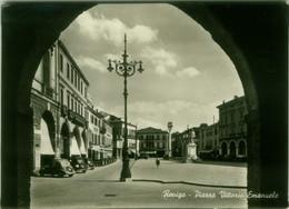 ROVIGO - PIAZZA VITTORIO EMANUELE - EDIZIONE A.S.R. - SPEDITA 1961 (BG6173) - Rovigo