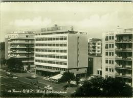 ROMA - EUR - HOTEL DEI CONGRESSI - EDIZIONE BELVEDERE - SPEDITA 1966 (BG6174) - Bars, Hotels & Restaurants