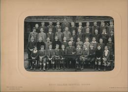 Photographie (24,5 X 33 Cm) Petit Collège CHAPTAL à Paris Par J. David, Levallois-Paris (1908-1909) (BP) - Ancianas (antes De 1900)