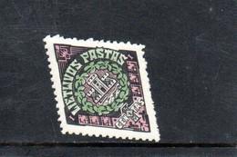 LITUANIE 1923 * - Lituania