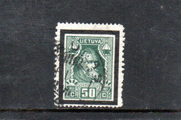 LITUANIE 1927 O - Lituania