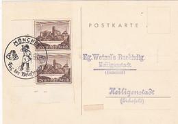 Deutsches Reich Postkarte 1940 Tag Der Briefmarke - Brieven En Documenten