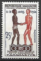 MADAGASCAR   -  1960 . Y&T N° 354 **.   Jeux Sportifs - Madagascar (1960-...)
