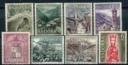 Andorra 1963. Edifil 60-67 ** MNH. - Neufs