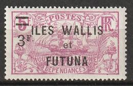 WALLIS Et FUTUNA - N°37 * (1924-27) - Unused Stamps