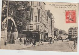 Villeneuve-Saint-Georges-Rue De Paris- Singer (D.9154) - Villeneuve Saint Georges