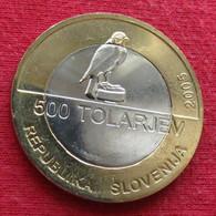 Slovenia  500 Tolar 2005 Falcon - Slovenia