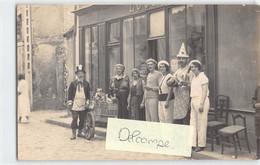 Beaumont Sur Sarthe. Grande Braderie. 1932. Carte Photo - Beaumont Sur Sarthe