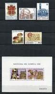 Andorra 1987. Completo ** MNH. - Andorre Espagnol