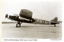 Luchtvaart-vliegtuig Fokker F38 Snip AM4765 - 1919-1938: Between Wars