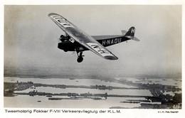 Luchtvaart-vliegtuig Fokker AM4738 - 1919-1938: Between Wars