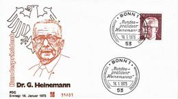 Germany - Mi-Nr 732 FDC (f425) - [7] Federal Republic