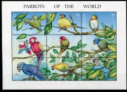 Saint Vincent      Oiseaux   Perroquets   2442/2450 ** - Perroquets & Tropicaux
