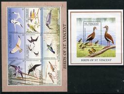 Saint Vincent Et Grenadines  Oiseaux  2811/2819 ** + Bloc 333 ** - Oiseaux
