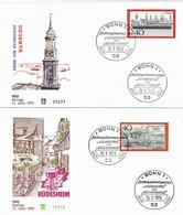 Germany - Mi-Nr 761/762 FDC (f426) - [7] Federal Republic