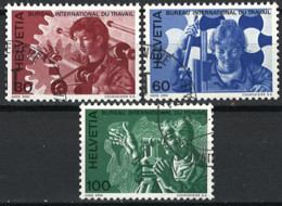 Schweiz Switzerland 1975. BIT/ILO Mi.-Nr. 105-107, Used O - Usati