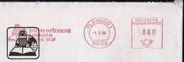 Germany Planegg 1984 / Enzyklopädische Literatur, Encyclopedic Literature / Owl,  Book / Machine Stamp - [7] Federal Republic