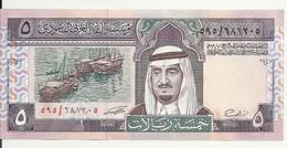 ARABIE SAOUDITE 5 RIYALS 1983 UNC P 22 - Arabia Saudita