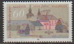 BRD 1986 MiNr.1280 ** Postfrisch 1000 Jahre Walsrode ( A3964 )günstige Versandkosten - [7] Federal Republic