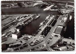 Dunkerque.   Le Port.   Edit Cim    CPSM GF  Vue Aerienne. Vue Vers Malo Les Bains - Dunkerque