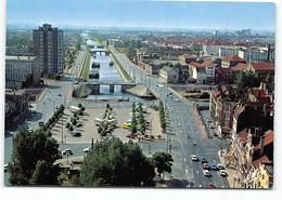 Dunkerque. Le Canal De Bergues.  Peniches. Edit Estel - Dunkerque