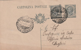 Terranova Pausania. 1923. Annullo Guller TERRANOVA PAUSANIA *SASSARI* , Su Cartolina Postale Con Testo - Storia Postale