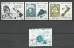 Timbre De Polynésie Francaise En Neuf ** N 354/357 - Neufs