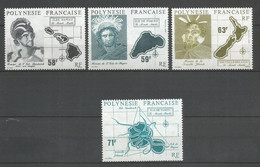 Timbre De Polynésie Francaise En Neuf ** N 354/357 - Unused Stamps