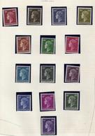 Luxembourg (1948-58) - Grande-Duchesse Charlotte -   Neufs** - Unused Stamps