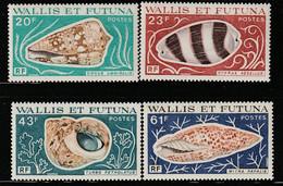 WALLIS Et FUTUNA - N°192/5 ** (1976) Coquillages - Ungebraucht