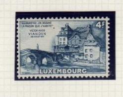 Luxembourg (1953) - Victor-Hugo  -   Neuf* - Unused Stamps