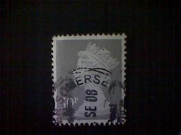Great Britain, Scott #MH365, Used(o), 2007, Machin: Queen Elizabeth II, 50p, Light Gray - 1952-.... (Elizabeth II)