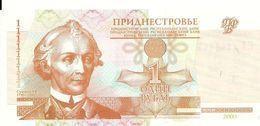 TRANSNISTRIE 1  RUBLE 2000 UNC P 34 - Moldavia