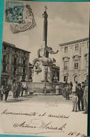 Catania - La Fontana Dell'Elefante - 1902 - Catania