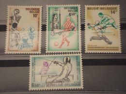 BELGIO - 1977 SPORT 4 VALORI- NUOVI(++) - Bélgica