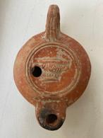 Lampe à Huile Romaine Signée - Archeologia