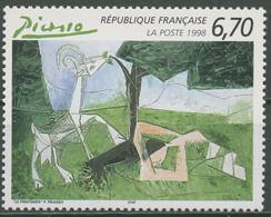 Frankreich 1998 Kunst Gemälde Der Frühling Pablo Picasso 3302 Postfrisch - Neufs