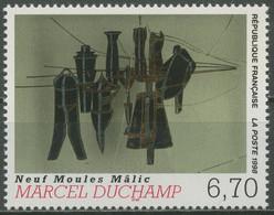Frankreich 1998 Zeitgenössische Kunst Gemälde Marcel Duchamp 3340 Postfrisch - Neufs
