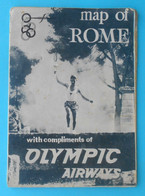 OLYMPIC GAMES ROME 1960 - Old Olympics Brochure Programme * Olympiad Olympiade Olympia Olimpiade Roma '60. Italy Italia - Olympische Spiele
