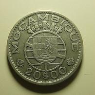 Portuguese Moçambique 20 Escudos 1960 Silver - Portugal