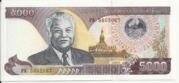 LAOS 5000 KIP 2003 UNC P 34 B - Laos