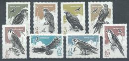 URSS YT N°3040/3047 Oiseaux De Proie Neuf/charnière * - 1923-1991 URSS