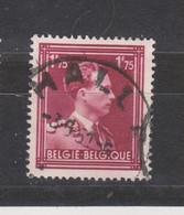 COB 832 Oblitération Centrale HALLE - 1936-1957 Open Collar