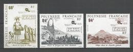 Timbre De Polynésie Française Neuf** N 379/381 - Neufs