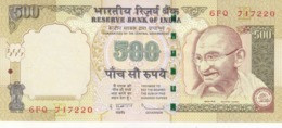 INDIA 500 RUPEES 2010 P-99e WITH LETTER E UNC */* - Inde