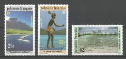 Timbre De Polynésie Française En Neuf ** N 390/392 - Neufs