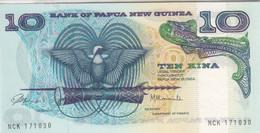 PAPUA NEW GUINEA 10 KINA 1985 P 7 UNC */* - Papoea-Nieuw-Guinea